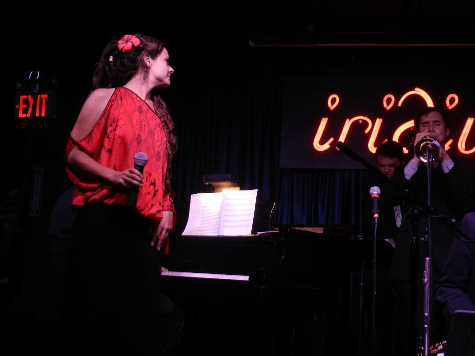 With Annie Sellick and the Jazz Conceptions Orchestra at the Iridium