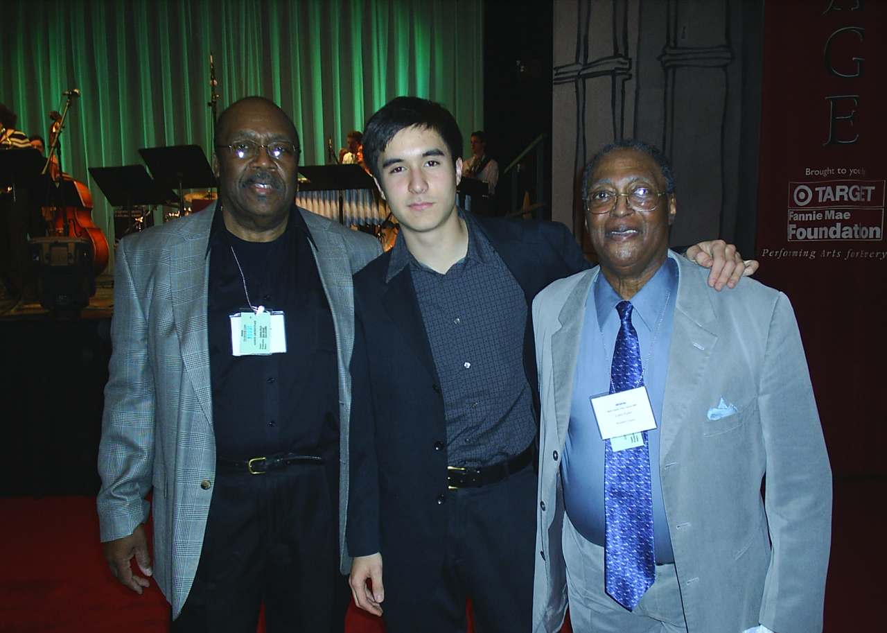 Nathan Davis and Curtis Fuller at the Kennedy Center