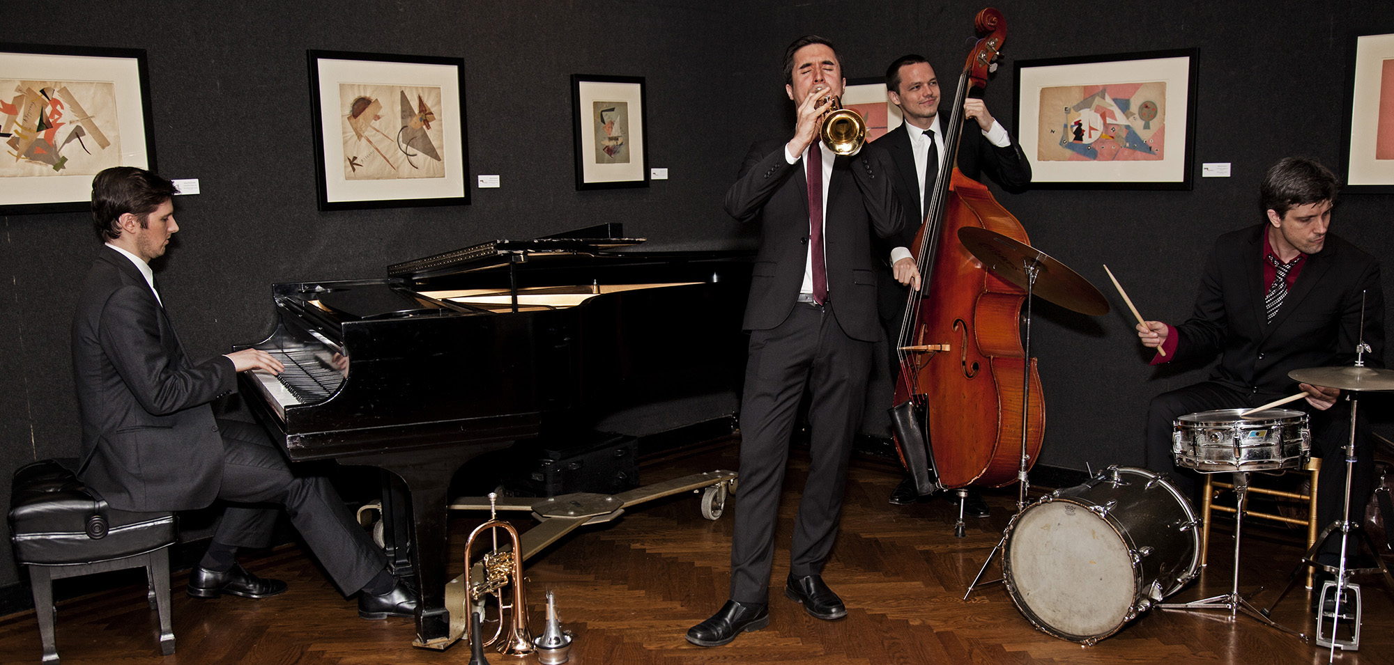 Tom McEvoy, Paul Sikivie & Phil Stewart - Photo: Shannon Nallan