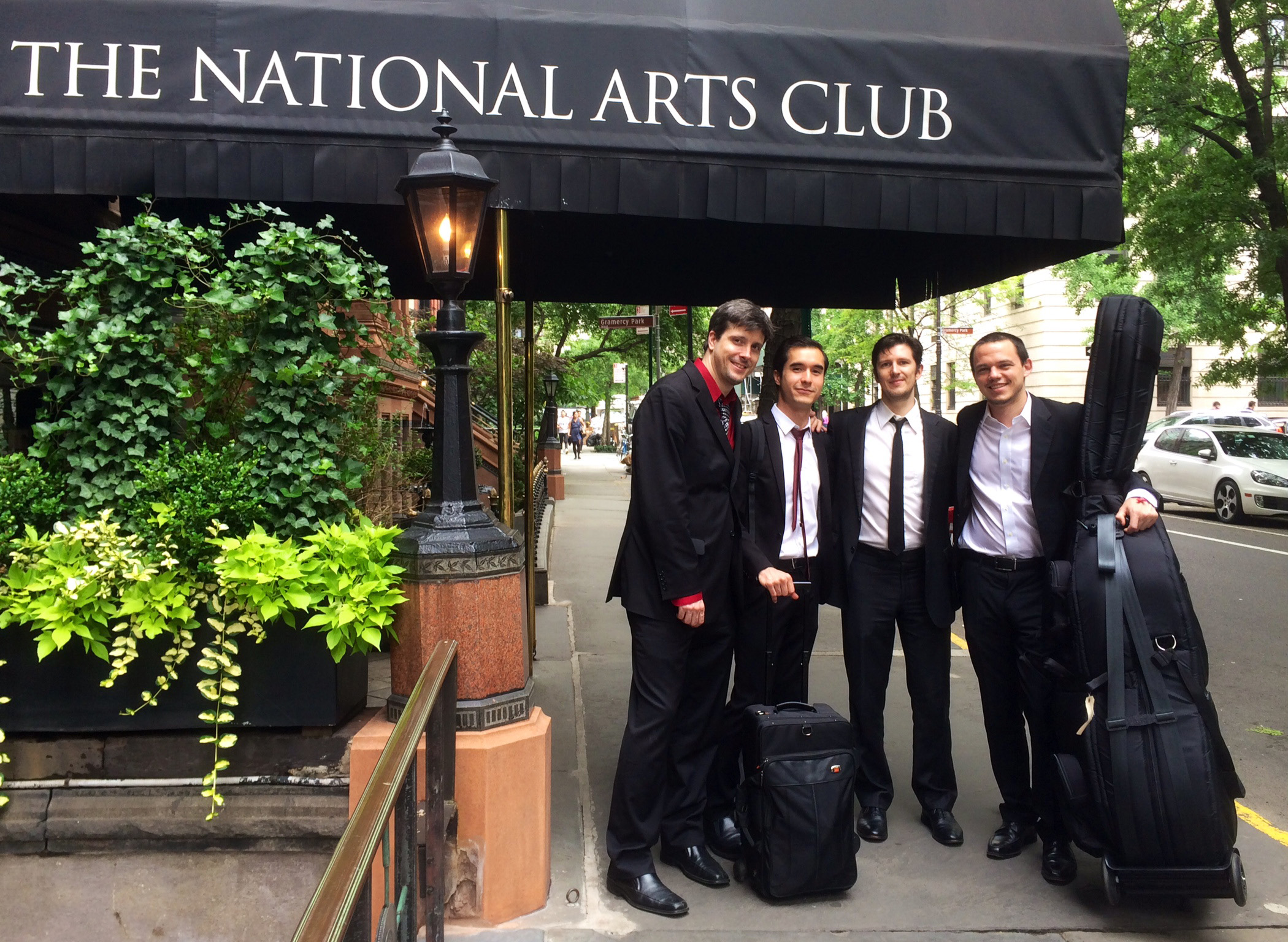 Phil Stewart, Alex Nguyen, Tom McEvoy & Paul Sikivie