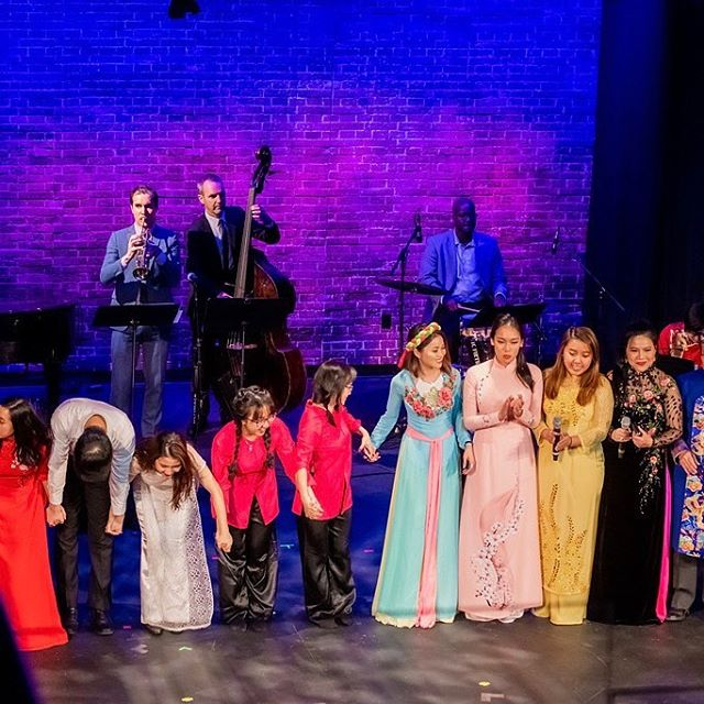 More moments from @vhcnyc Giai Điệu Quê Hương: Music of the Vietnamese Diaspora, part of Carnegie Hall's Migrations Festival. Photos by @irinaislandimages  #VietnameseMusic #VietnameseDiaspora #Vietnam #NewYork #Immigrants #Migration #OneFamily #CarnegieHall #SheenCenter