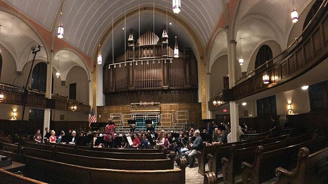 Great first rehearsal with University of Scranton concert band and concert choir tonight. They will premiere two of my compositions this Saturday for their World Premiere Series. #choir #concertband #composition