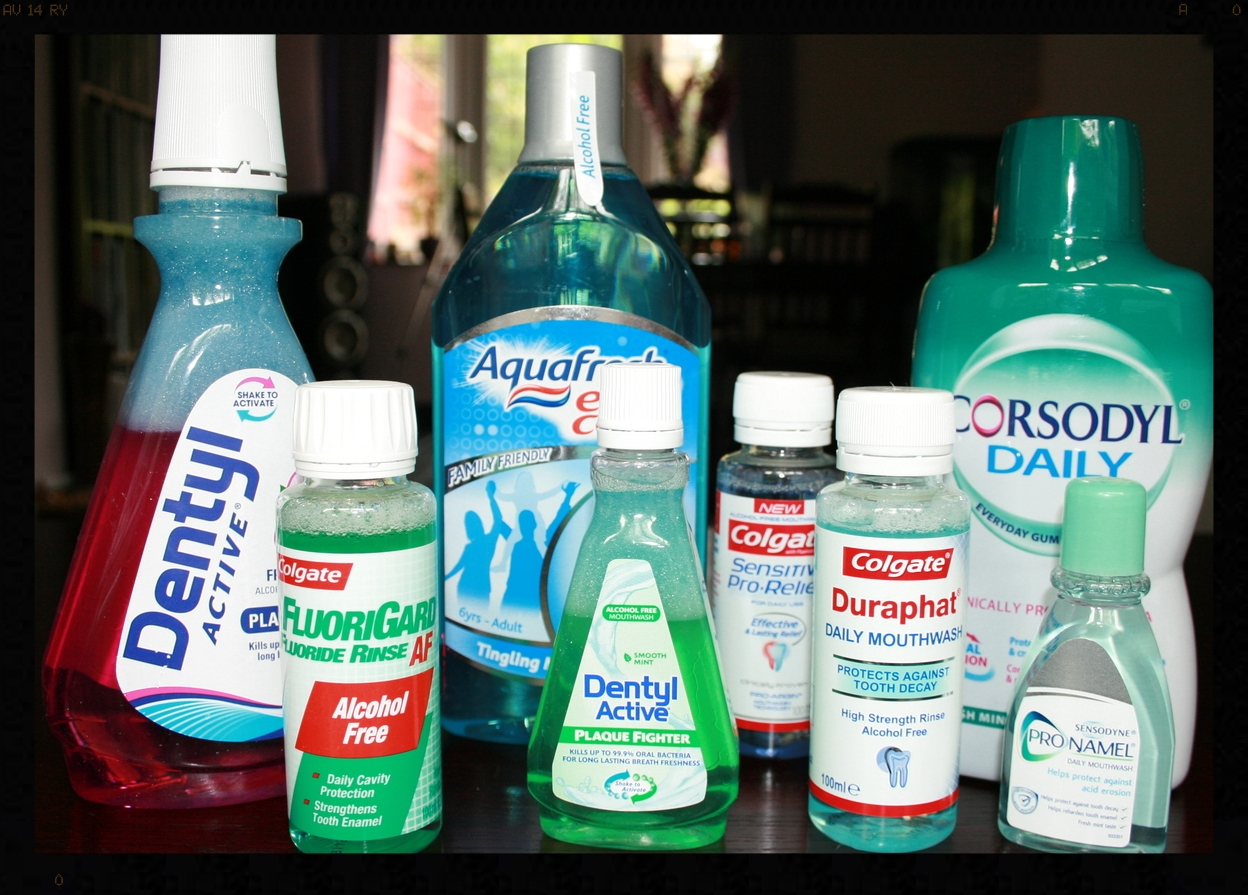 examples of fluoride mouthwash