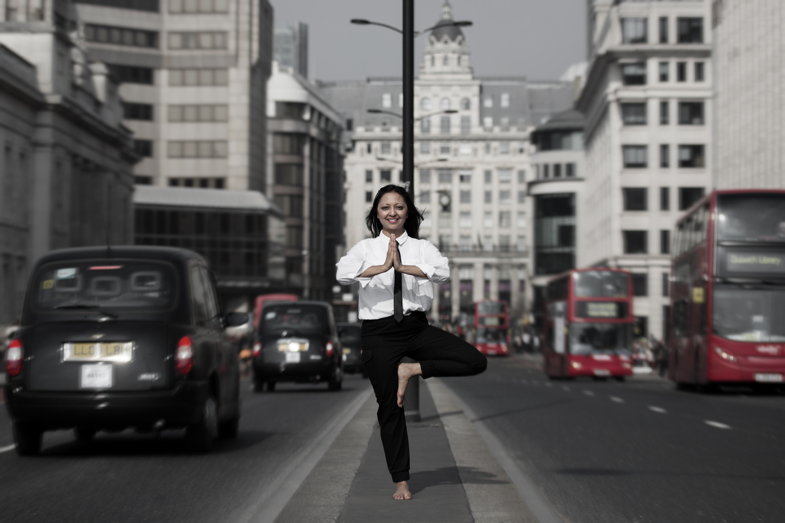 Living life in the fast lane: Tree pose