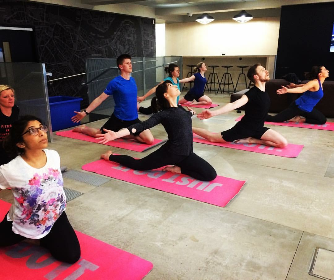 My weekly classes at Nike in Oxford Street and Hackney - they're a fab bunch and some of them have been practicing with me for over 2.5years now. Great to see a major brand embracing Yoga for employees!