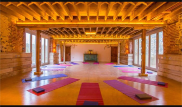 Join us in the barn for wonderful Yoga practices and Meditation