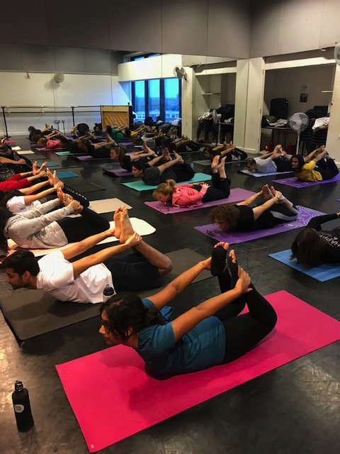 Weekly Yoga classes in Finchley, every Tuesday night 8pm - 915pm.