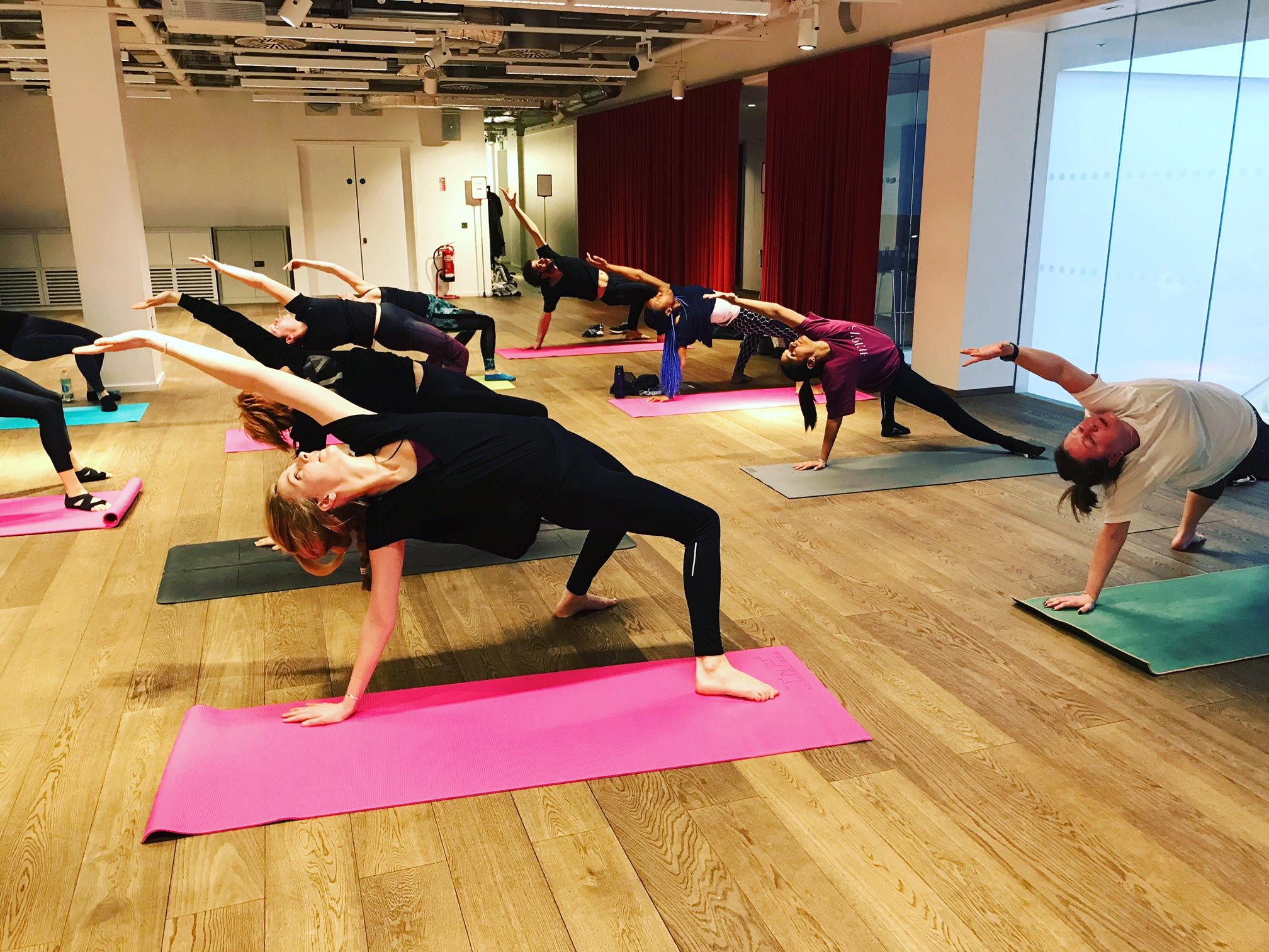 6 Week residency at Foyles Bookstore in Charing Cross Road. We held the first ever Yoga classes in store!   To come along to a class book via the foyles.co.uk website!