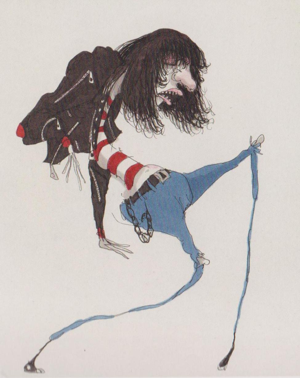 Untitled (Ramone) by Tim Burton