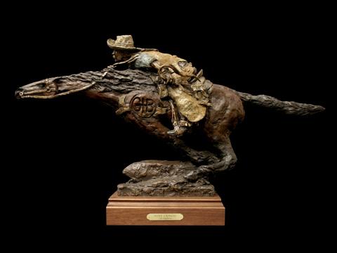 """Gib Singleton's """"Pony Express"""""""