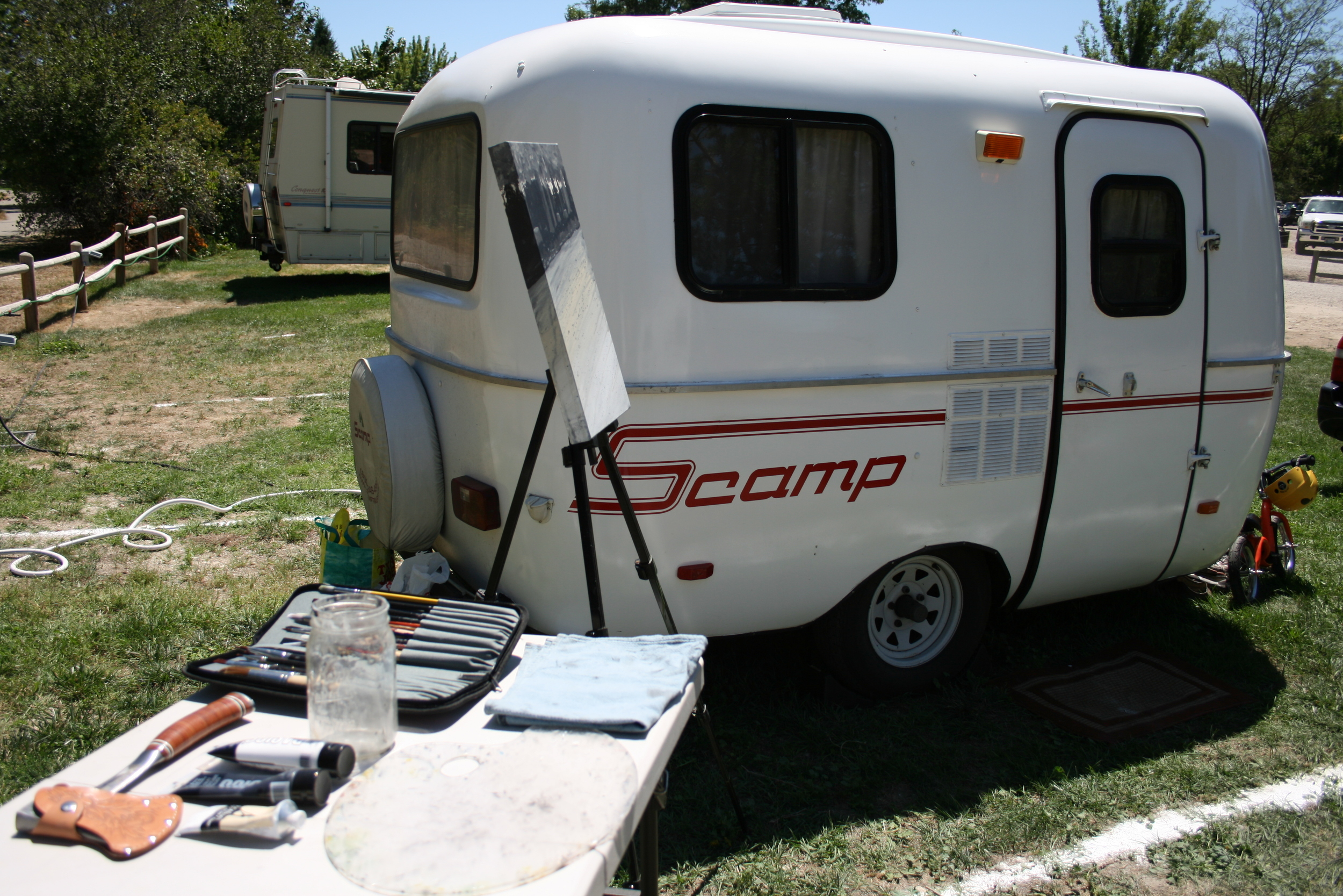 mobile campground studio  |  boise, id