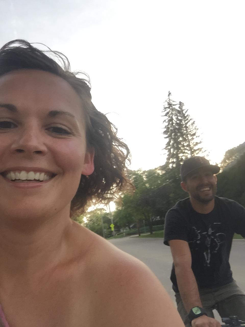 DATE NIGHT ON BIKES | CEDAR FALLS, IA