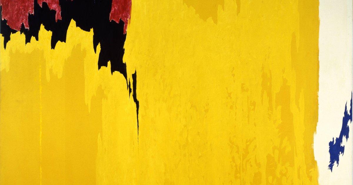 Clyfford Still | PH-971 | Oil on Canvas | 113 1/4 x 148 x 2 1/4 in. | ©City & County of Denver