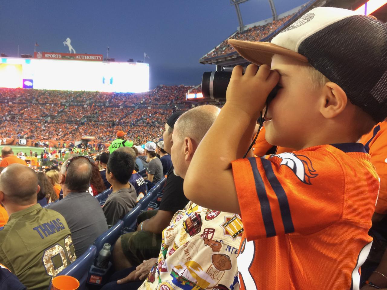 Go Broncos! | August | Denver, CO