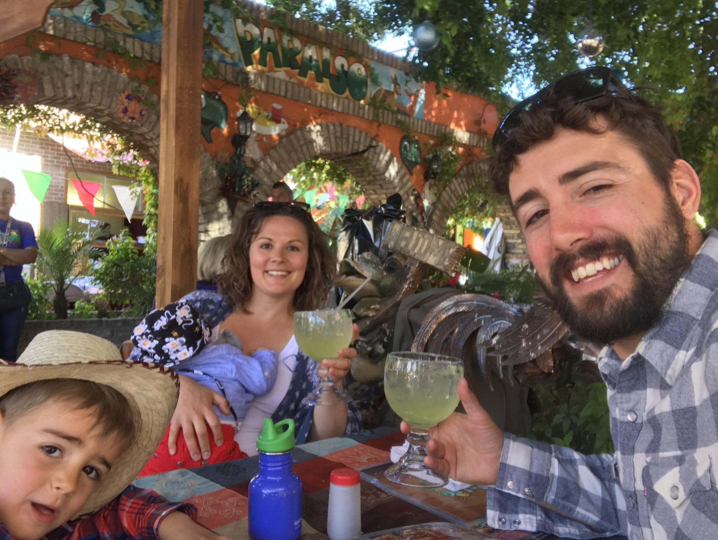 The Before: Margaritas in Mexico!   Los Algodones, Mexico