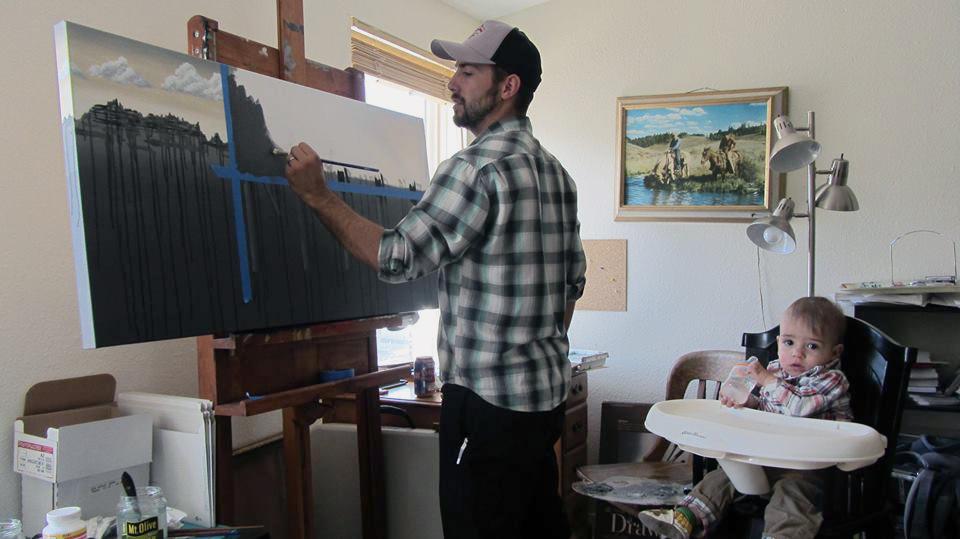 In the studio circa 2014 | Boulder, CO