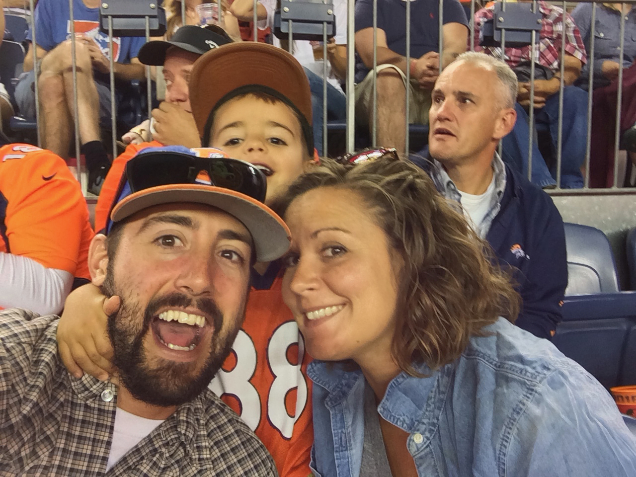 Broncos fans 4 life. - August 2016 - Denver, Colorado