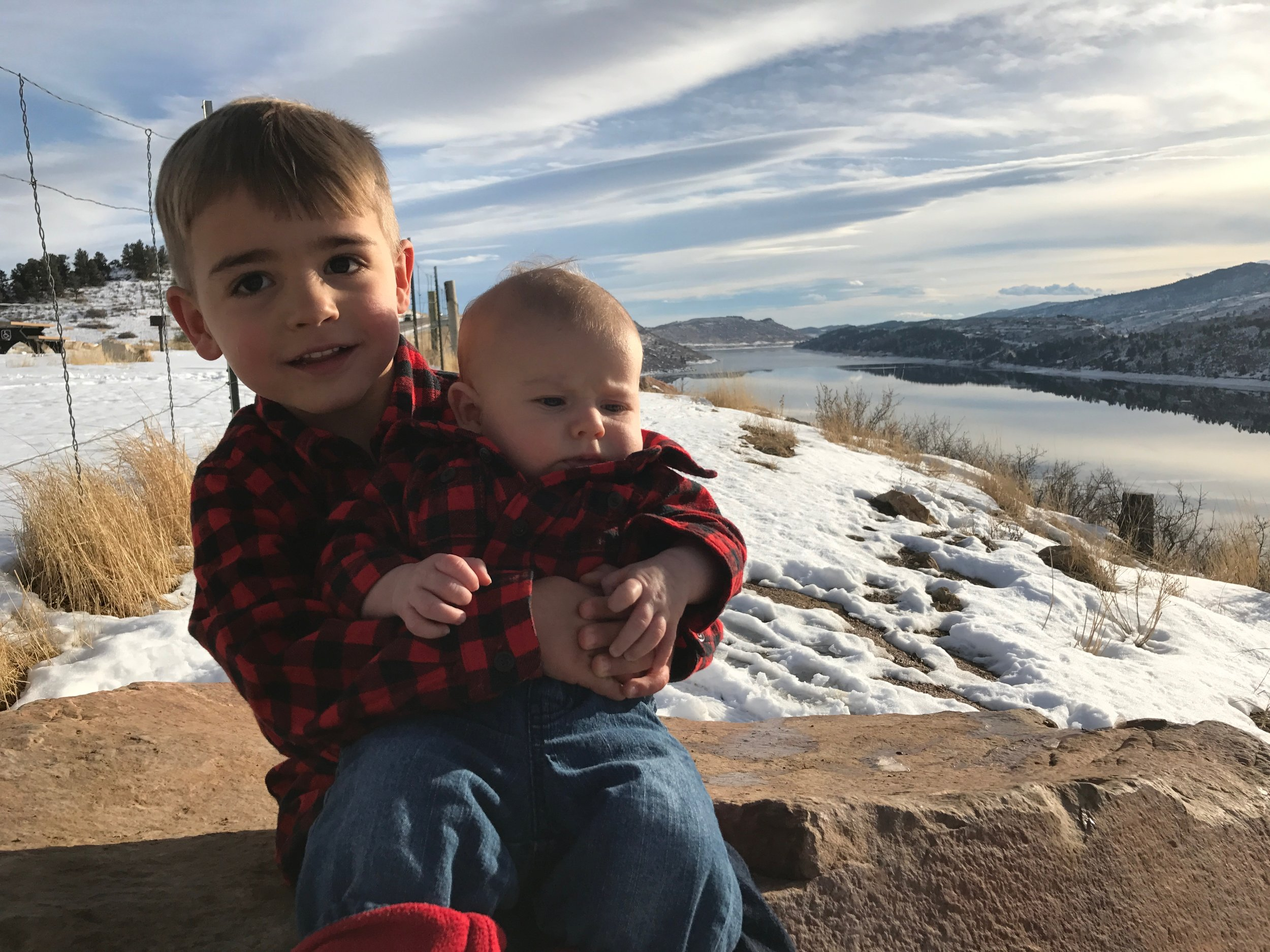The boys. - January 2017 - Fort Collins, Colorado