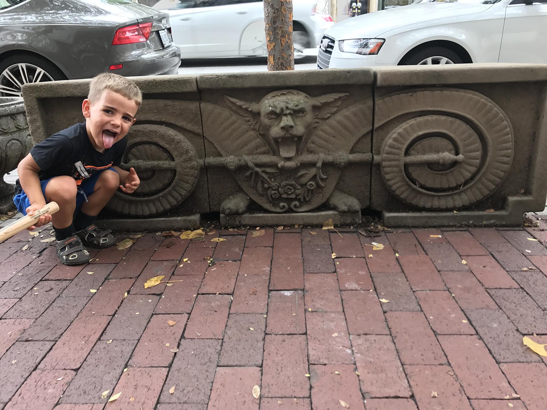 Gargoyles and Victorian flair everywhere | October | Louisville, KY