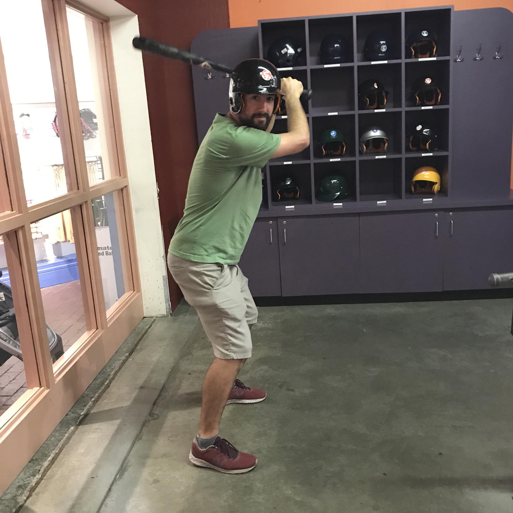 She had a better batting average | October | Louisville Slugger Museum, Louisville, KY