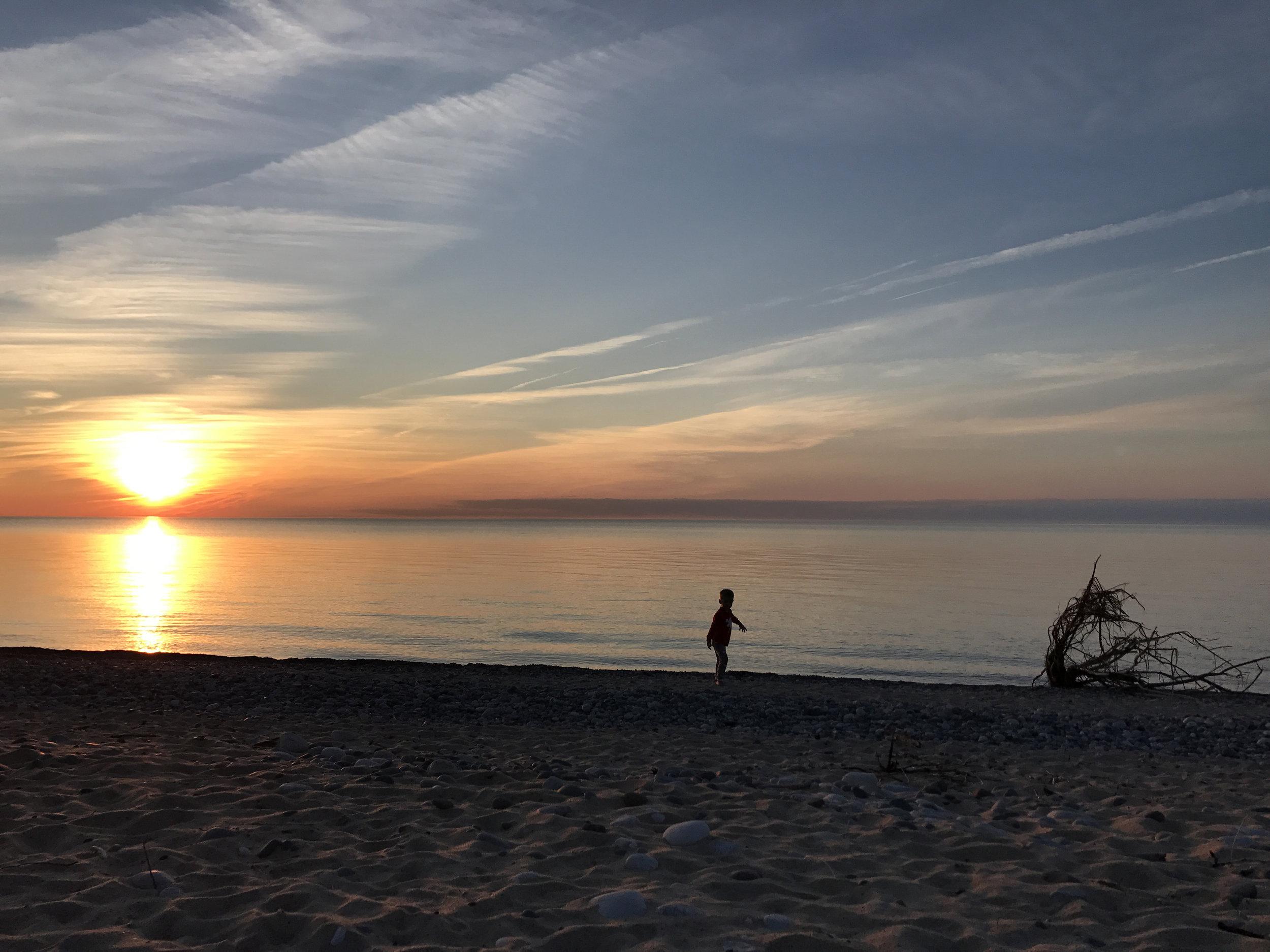 Those Michigan sunsets tho | July | Grand Marais, MI