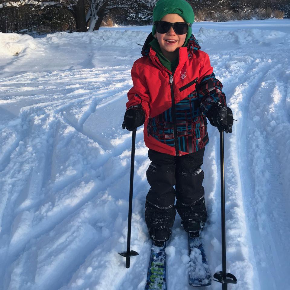 It snows in Michigan! | December | Glenn, MI