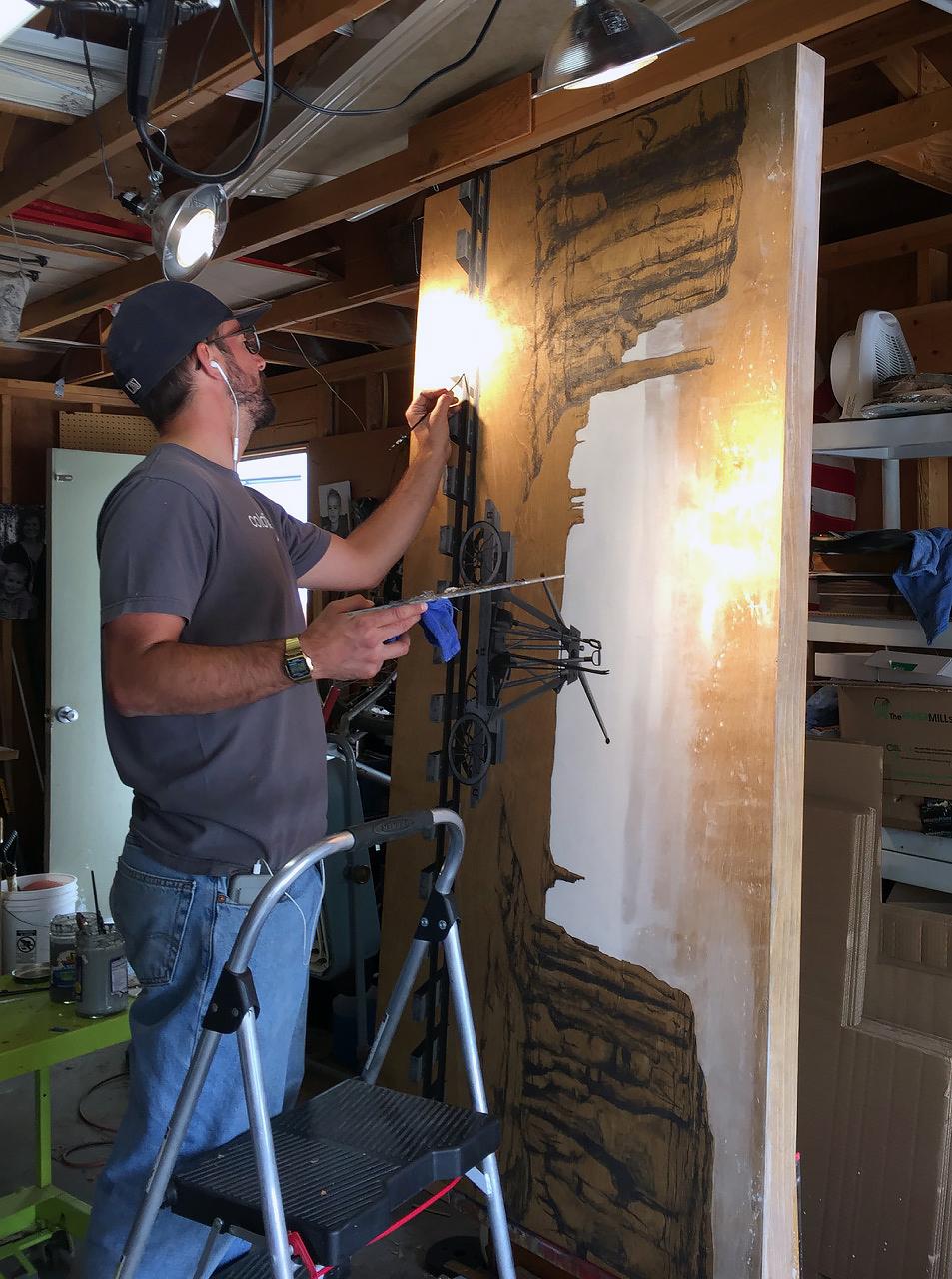 Garage studio - no heat, ac, or insulation | Fort Collins, CO