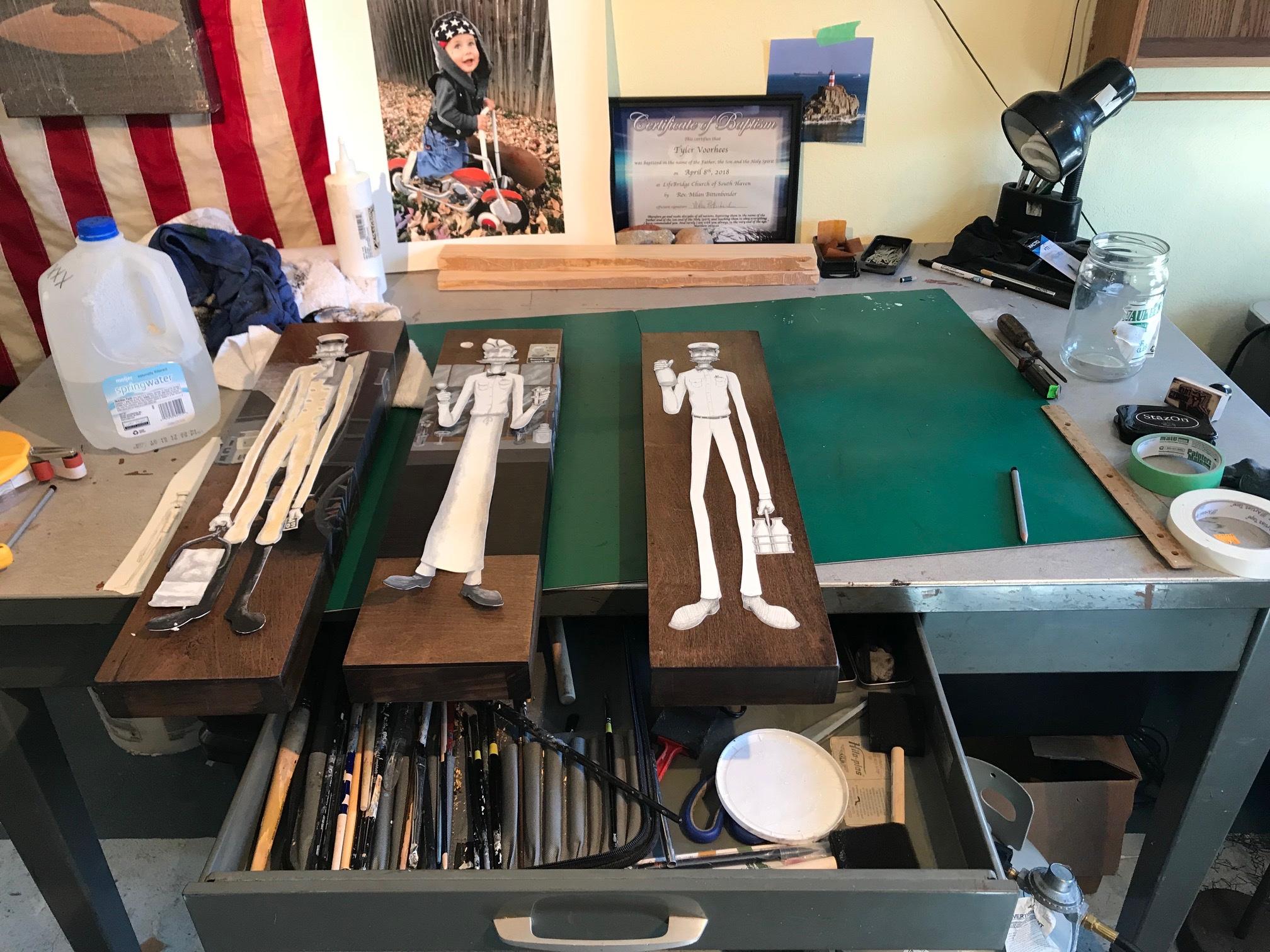 Work table | Glenn, MI
