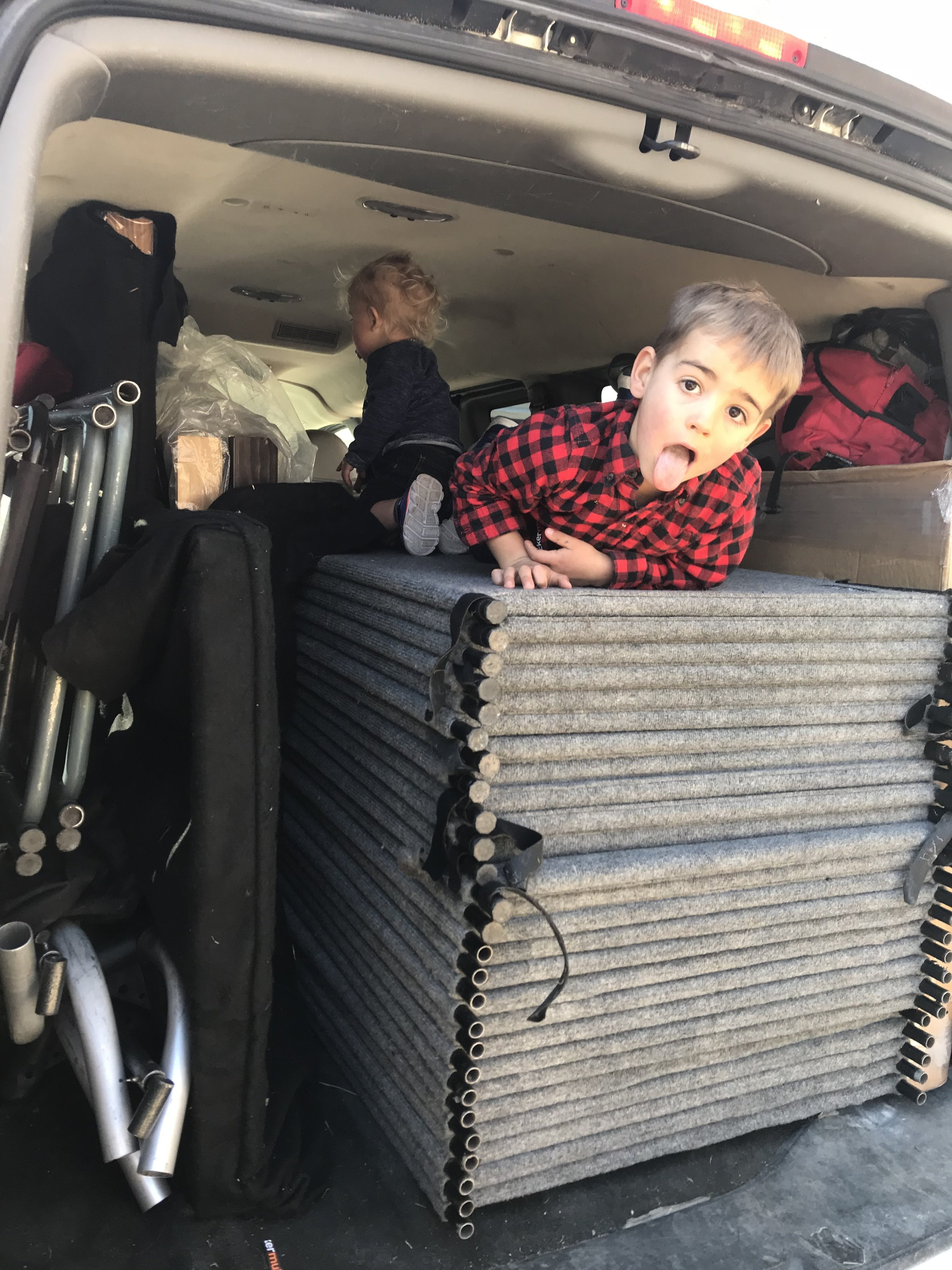 Van packing   Glenn, MI   March