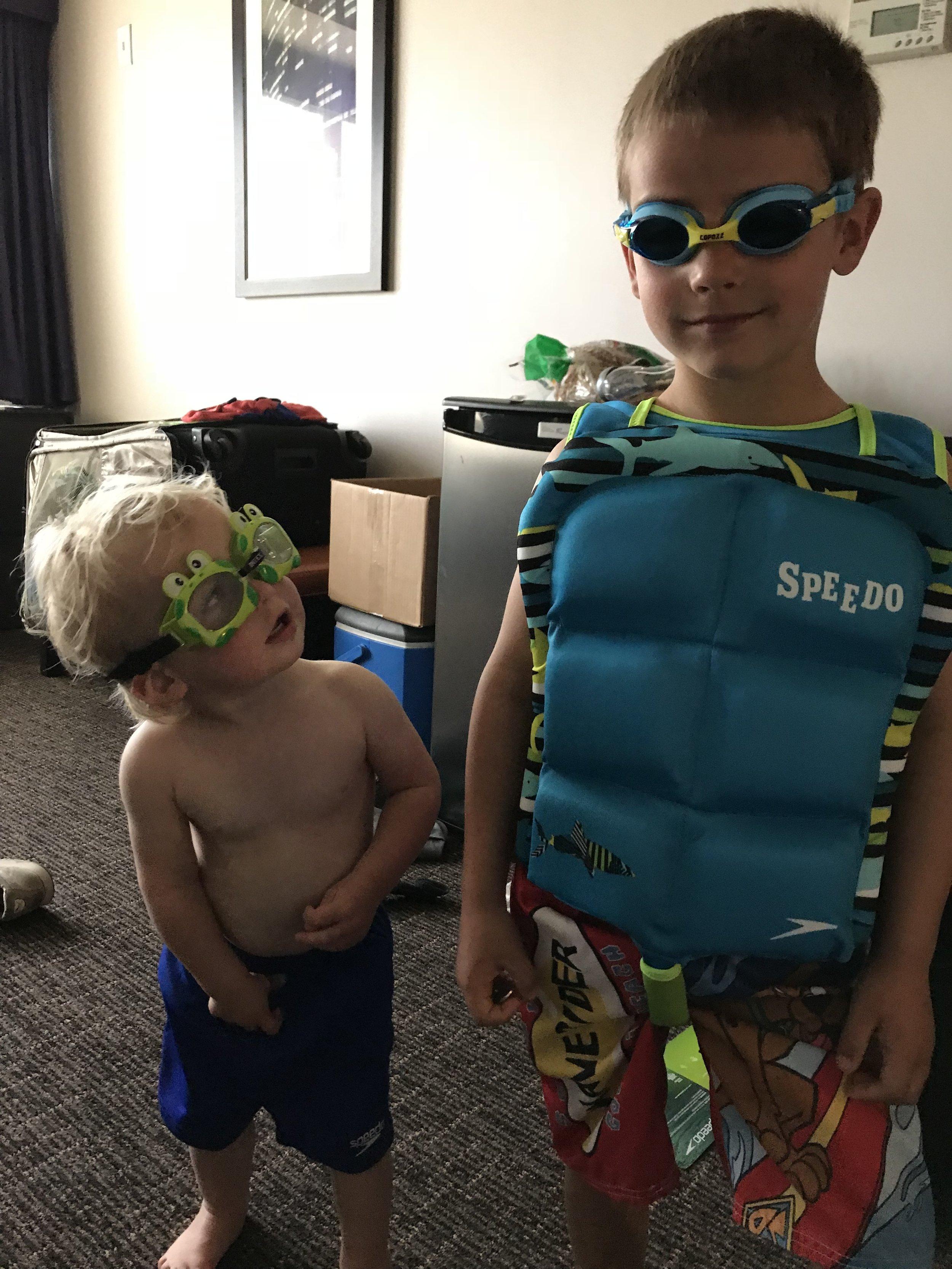 Swim bros   Chicago, IL   April