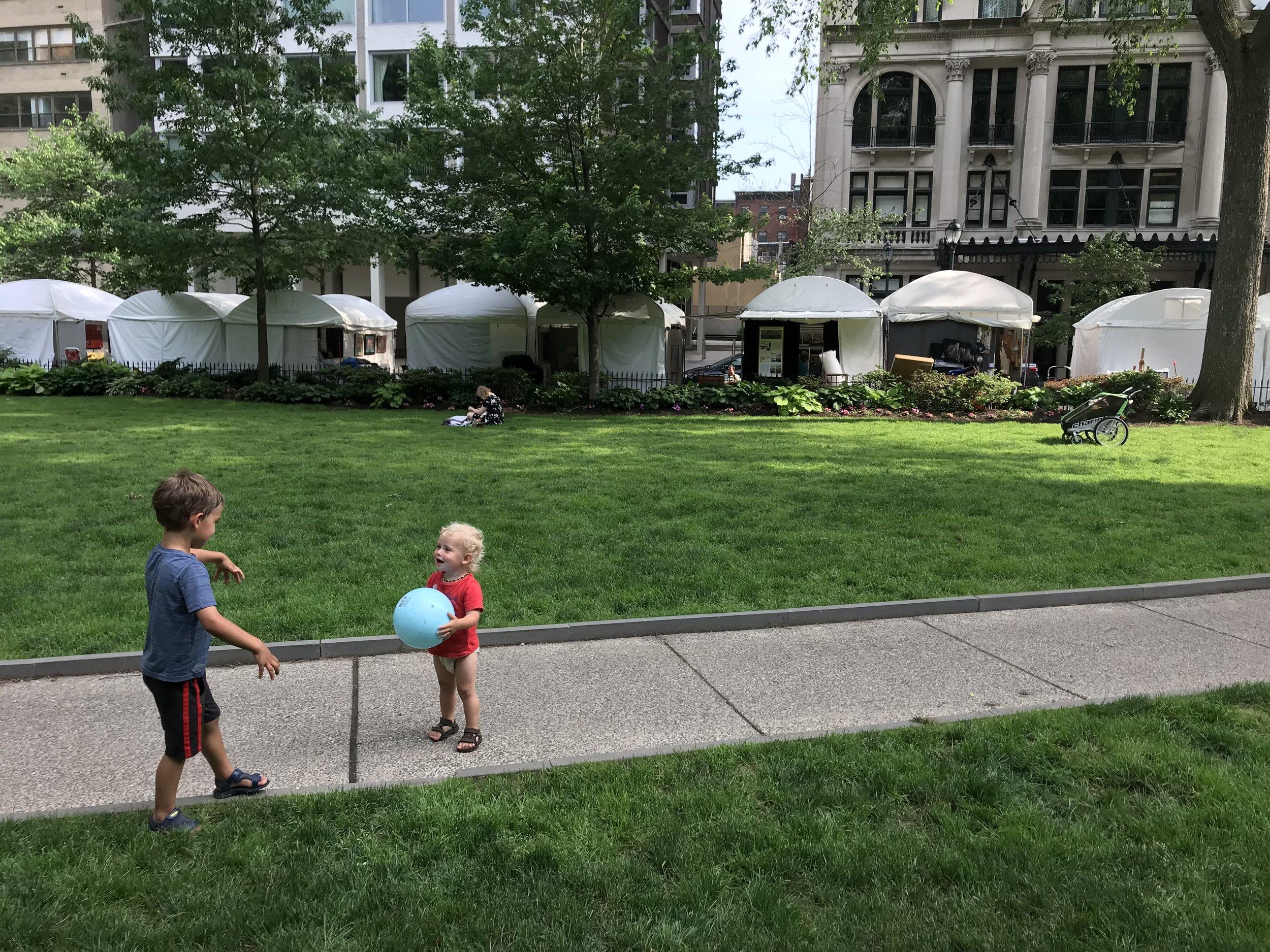 Festival babies   Philadelphia, PA   June