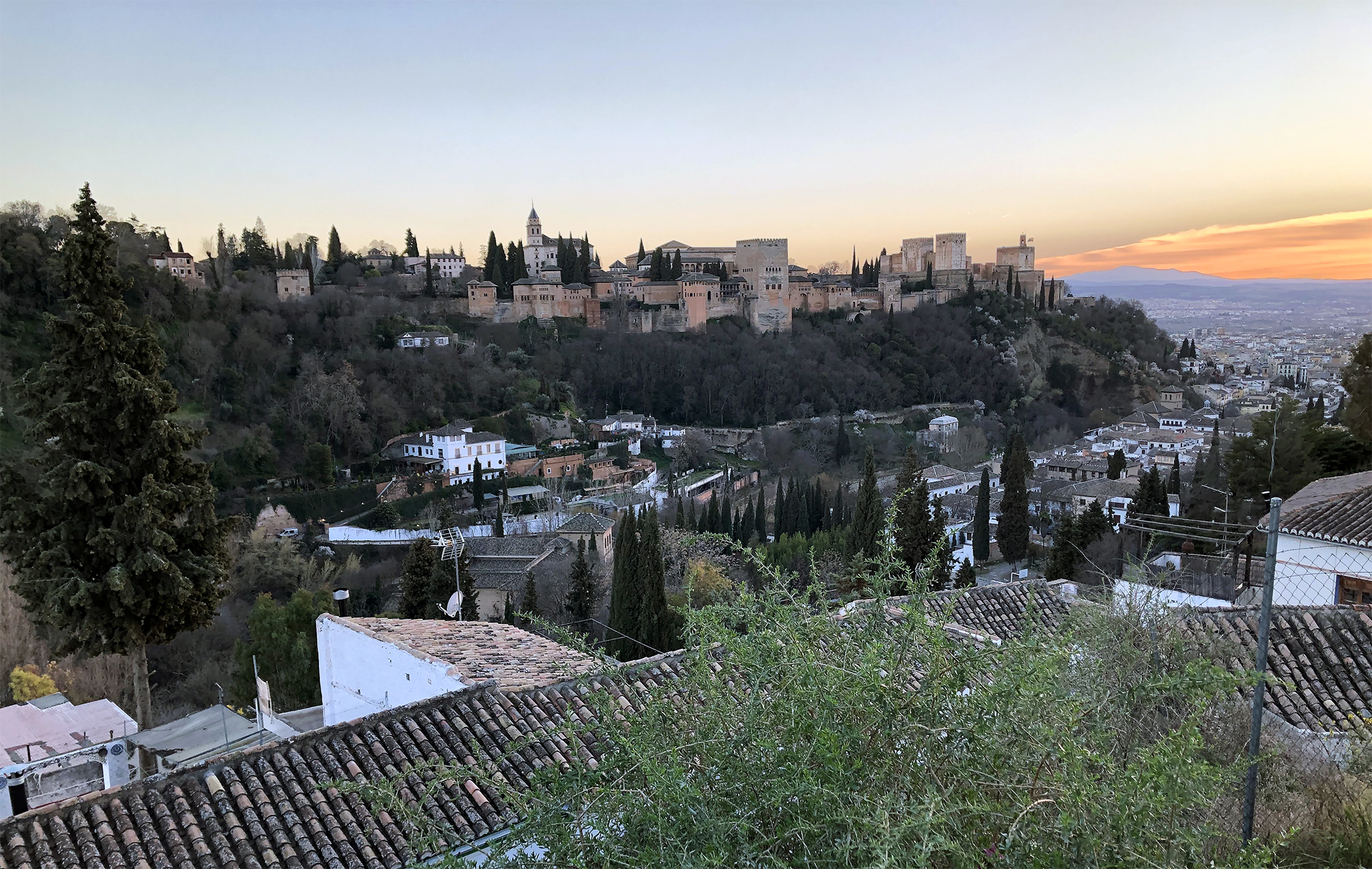 The Alhambra in modern day Granada.