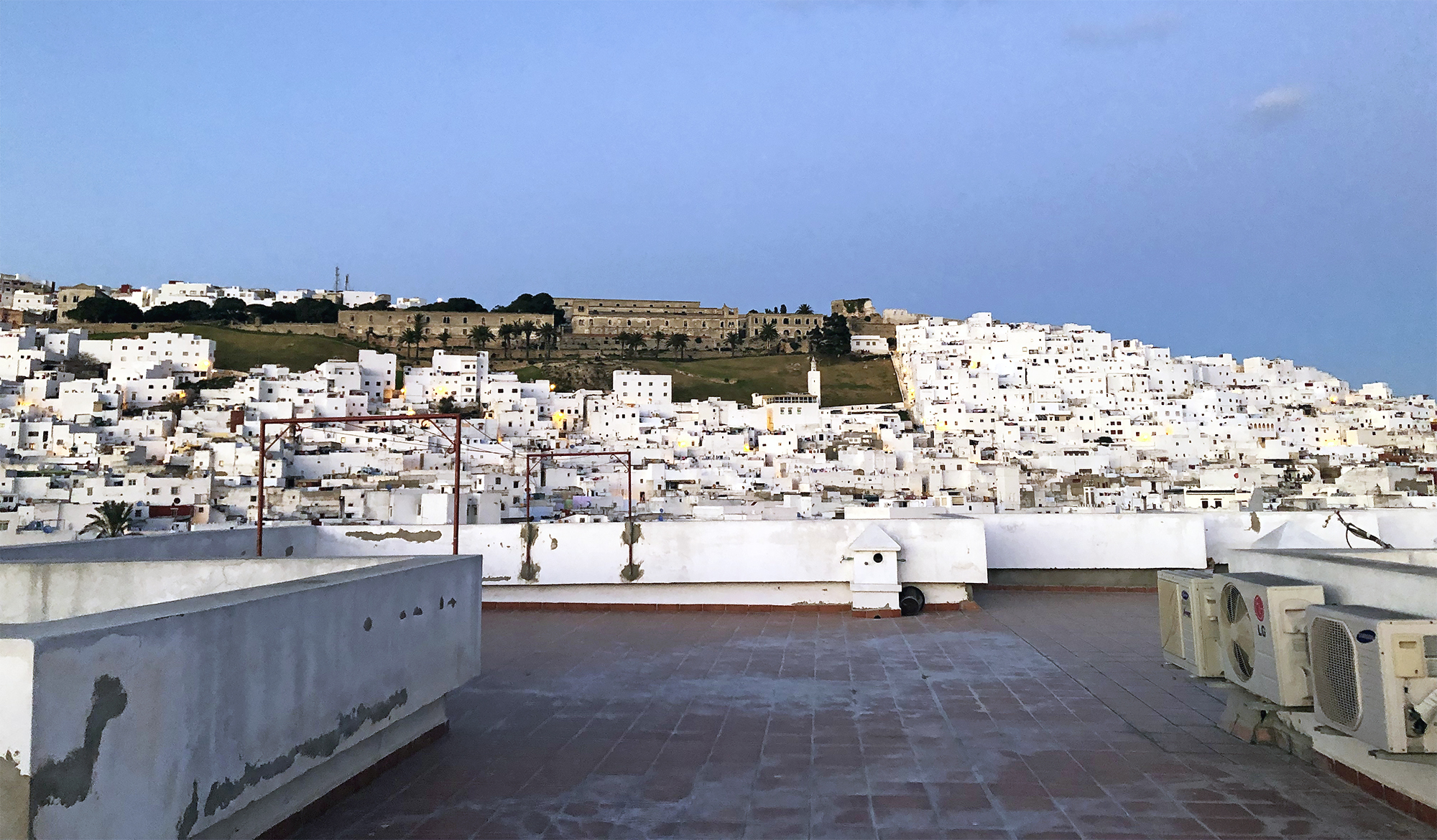 The Medina in modern day Tetouan.