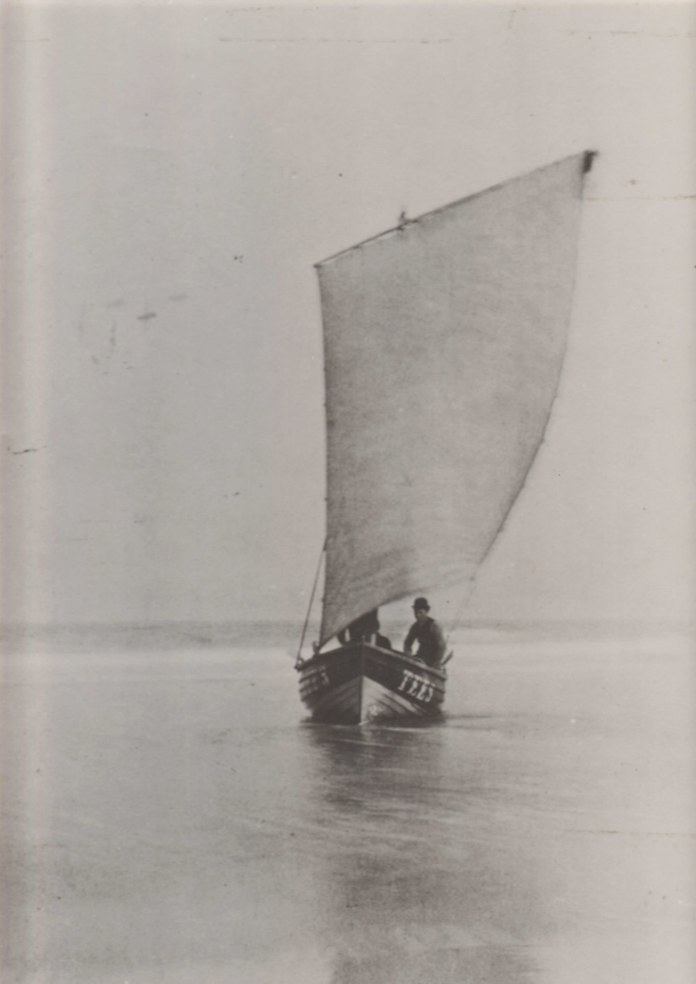 A Coble Under Sail, Courtesy of Museum of Hartlepool
