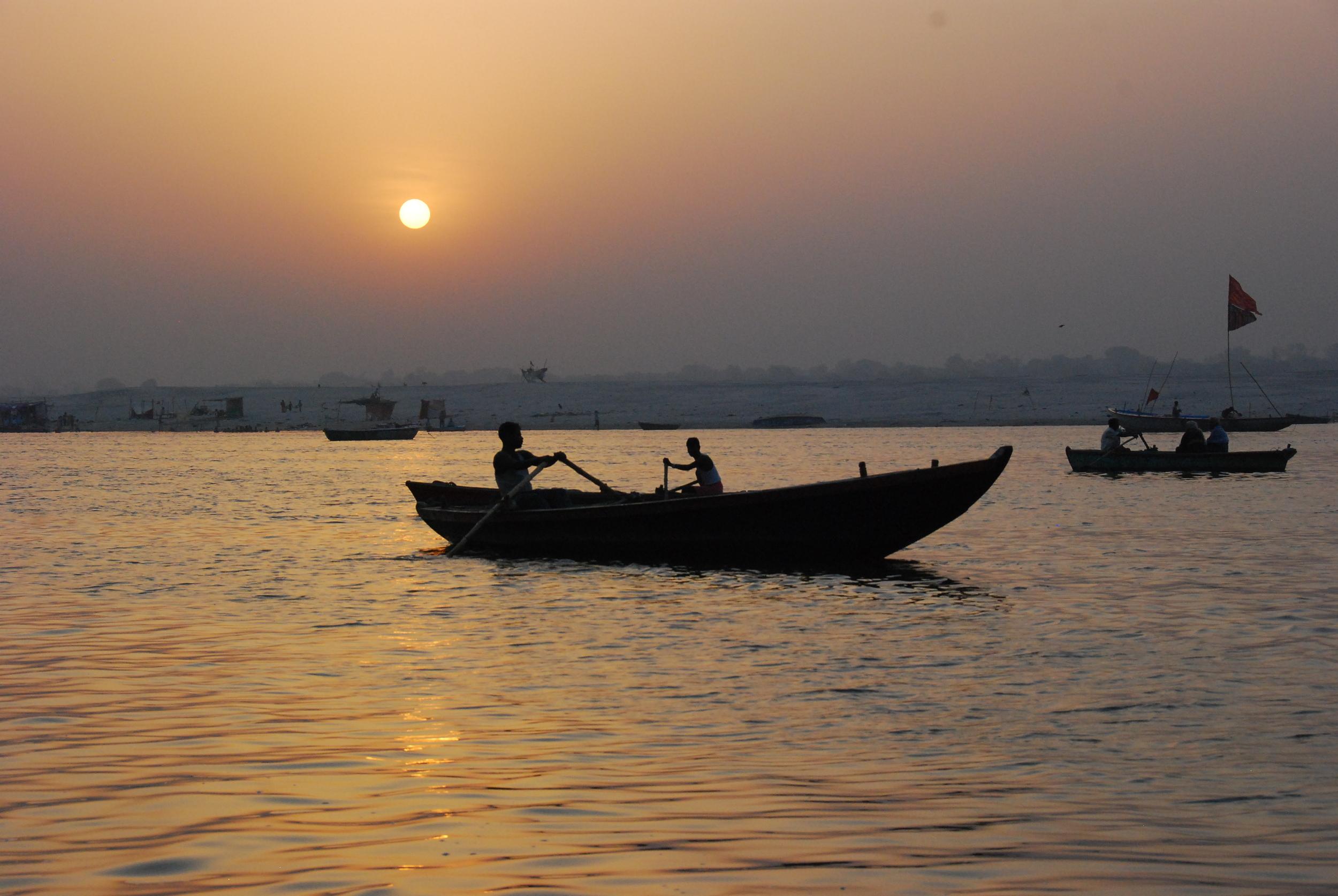 Sunrise on the Ganges, Varanasi
