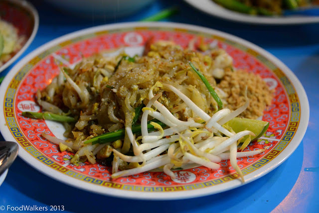 Pad Thai the way it's supposed tobe made.