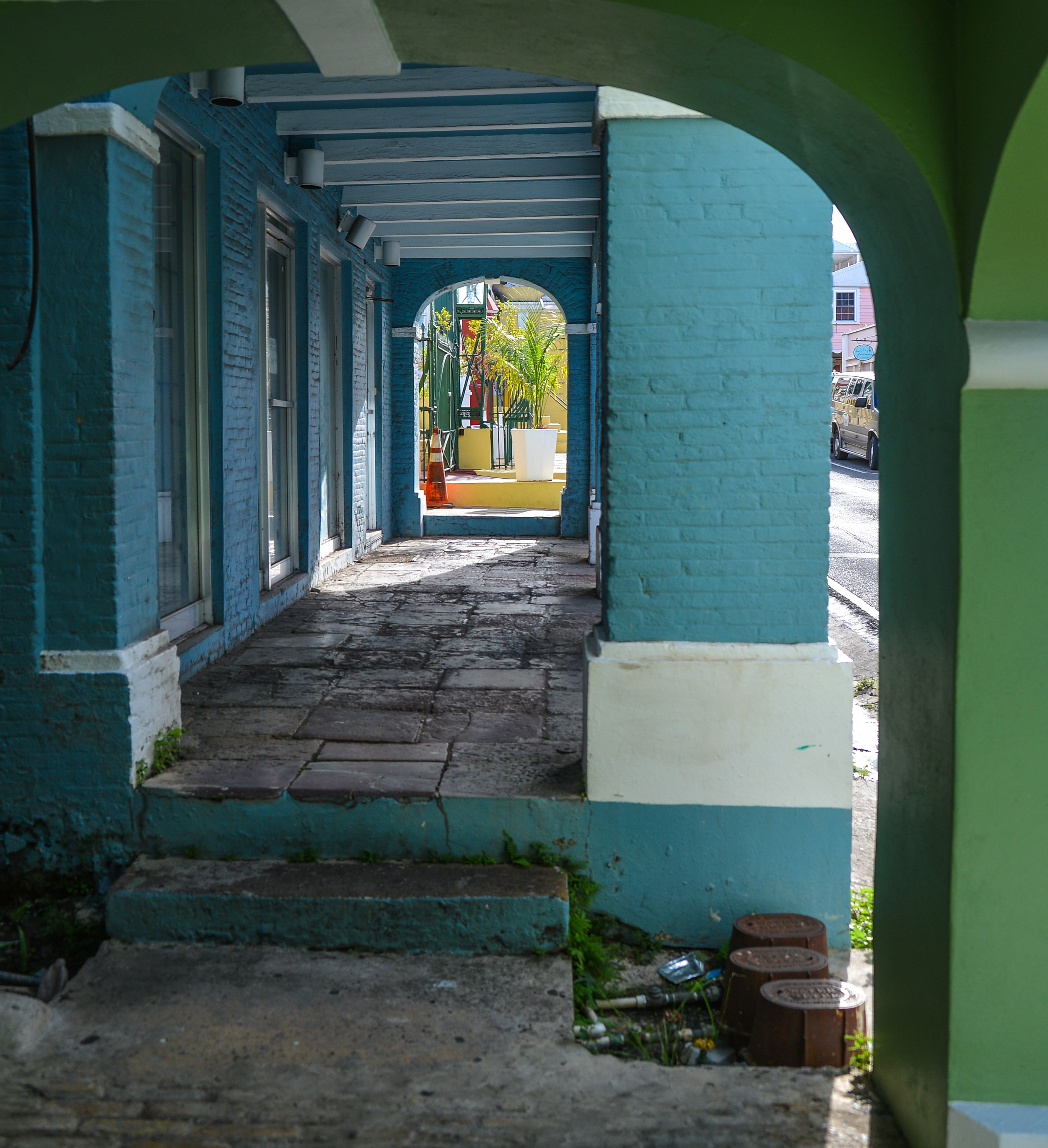 Danish archituecture prevails in Christiansted