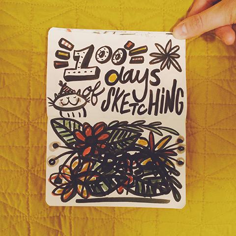 100 Days of Sketching!