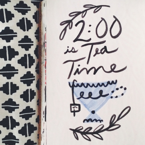 2:00 PM is Tea Time