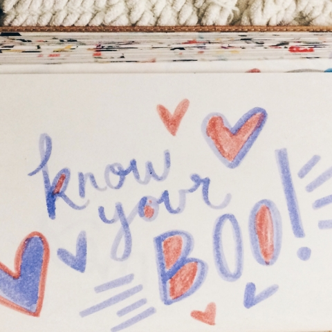 know your boo!