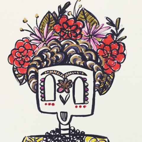 Frida Sugar Skull