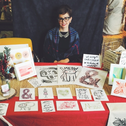 Terra Vista Studios 15th annual Holiday Sale, Day 1
