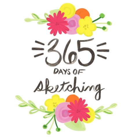 365 days of sketching!