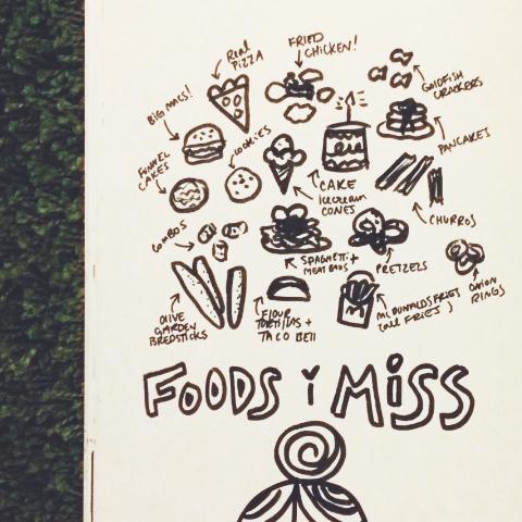 foods i miss