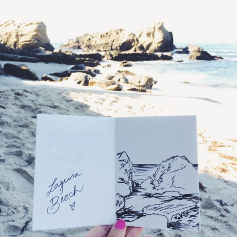 Sketching & Beaching!
