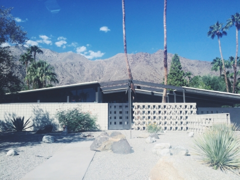 Mid Century Modern architectural & design tour of Palm Springs.