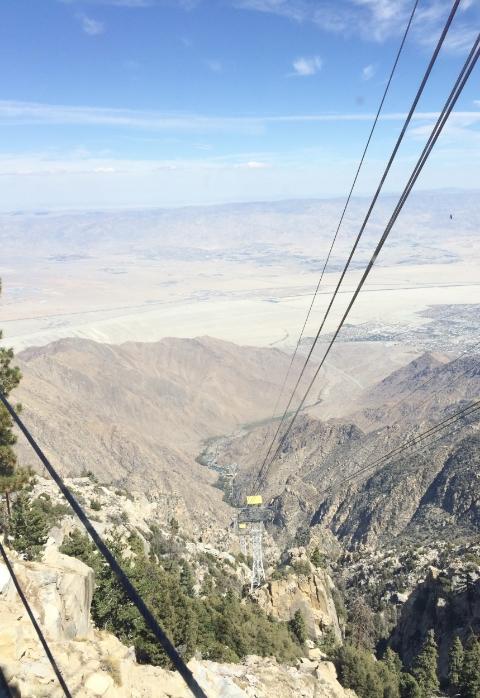 Palm Springs Ariel Tramway to Mount San Jacinto State Park.