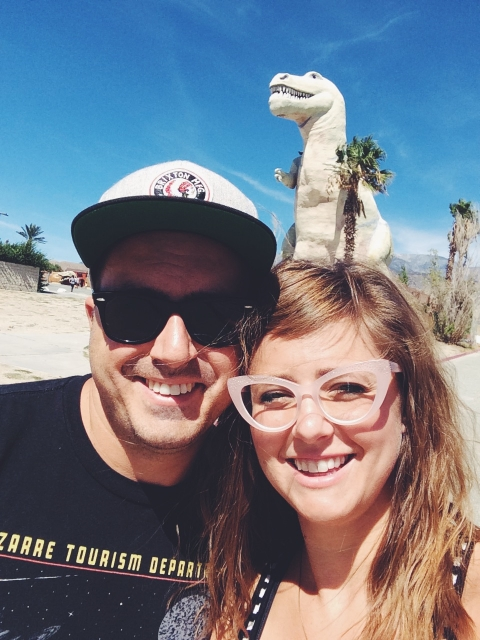 Cabazon dinosaurs (from the movie Pee-Wee's Big Adventure)!