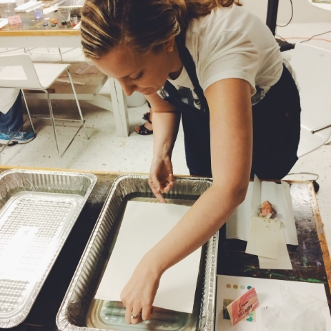 Laura the marbling master!