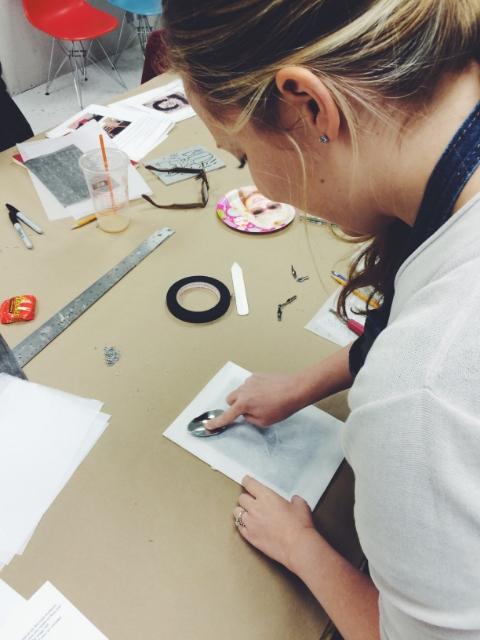 Laura printing.